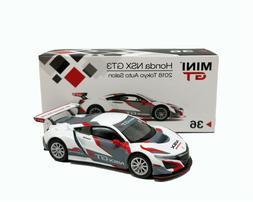 MINI GT 1:64 Honda NSX GT3 2018 LHD Tokyo Auto Salon Die-cas