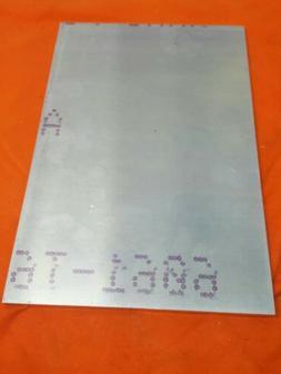 """3/8"""" X 8"""" X 10"""" ALUMINUM 6061  Bar Solid T651 New Mill Stock"""