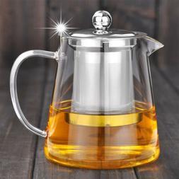 450ML Heat Resistant Glass Teapot Tea Glass Maker Tea Kettle