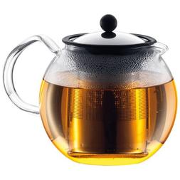Bodum Assam Shiny Tea Press With Stainless Steel Filter 1L /