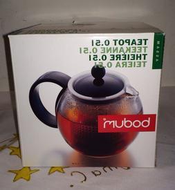 Bodum Assam Tea Press - Black - 0.5 L, 17 Oz