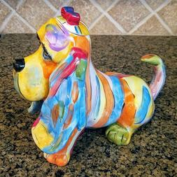 Basset Hound Dog Teapot Home Kitchen Decorative and Collecti