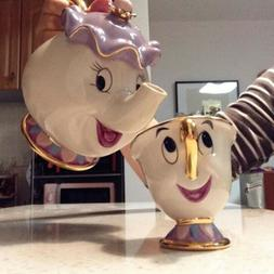 Beauty And The Beast Teapot Mug Mrs Potts Chip Tea Pot Cup S