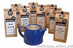 BLUE FOR LIFE 2 CUP  LOOSE LEAF TEAPOT & PACK OF SUKI TEA -