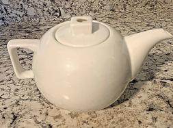 TEA FORTE CLASSIC CAFE WHITE SOLSTICE TEAPOT