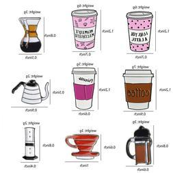 Coffee Tea Pin Turk Espresso Latte Grain Glass Teapot Collec