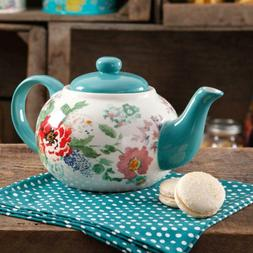 The Pioneer Woman Country Garden Teapot Classic Floral Desig