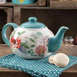 The Pioneer Woman Country Garden Teapot Dining Drinkware Flo