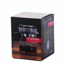 KAMJOVE Glass Gongfu Teapot Press Art Tea Cup Teapot with fi