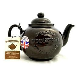 "Handmade Original Brown Betty 4 Cup Teapot with ""Original St"