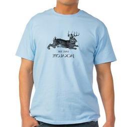 CafePress Jackalope T Shirt 100% Cotton T-Shirt
