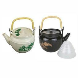 JapanBargain Japanese Plastic Melamine Teapot with Tea Strai