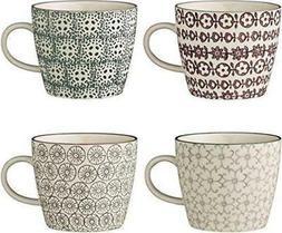 Bloomingville Karine Mugs, Set of 4