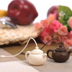 Kitchen & Dining Teapot-Shape Strainer Tea Leaf Filter Tea I