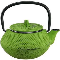 Creative Home Kyusu 0.31-qt Cast Iron Teapot
