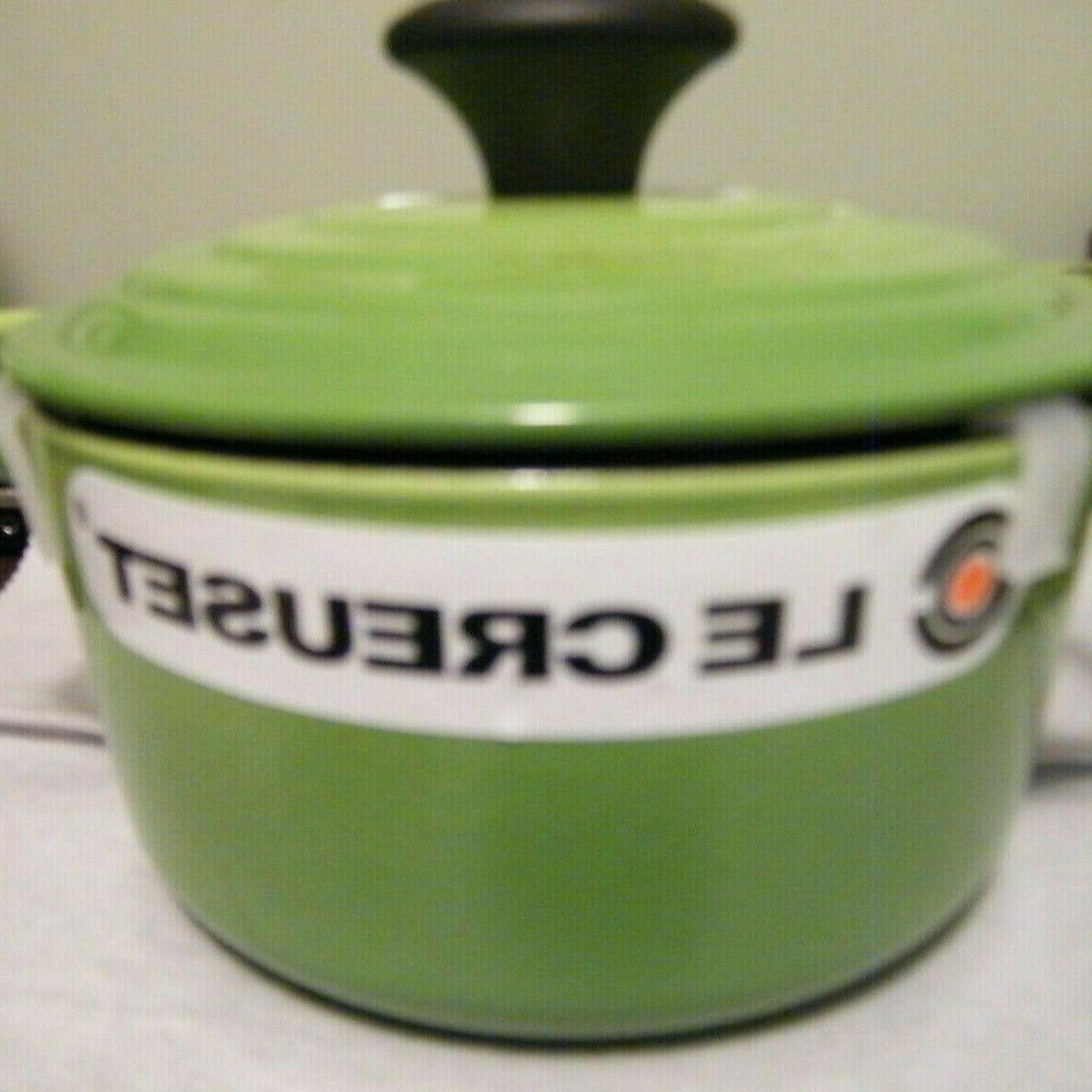 14 1 quart green signature round dutch