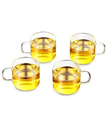 32oz/43oz Glass Infuser + Cup Tea Safe