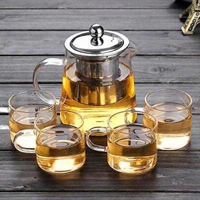 32oz 43oz glass teapot with infuser 4oz