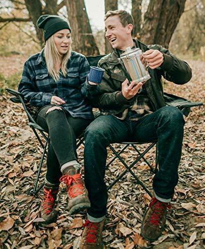9 Cup Camping Cookware Tea Pot…