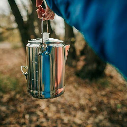 9 Camping Coffee Tea Pot…