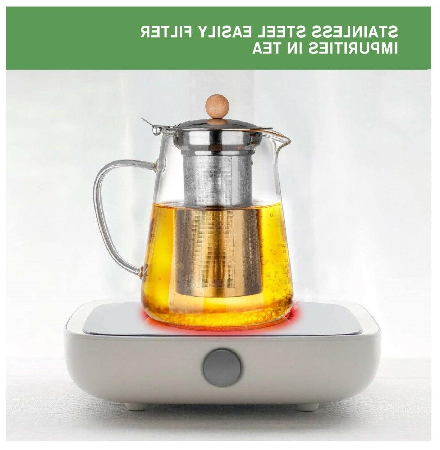 950ml/32oz Teapot Infuser kettle Pot