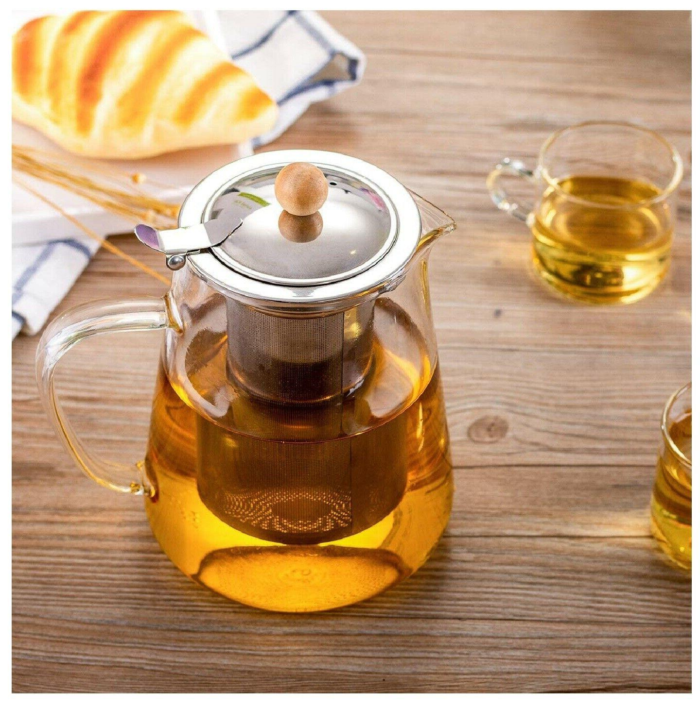 950ml/32oz Glass Teapot kettle Pot
