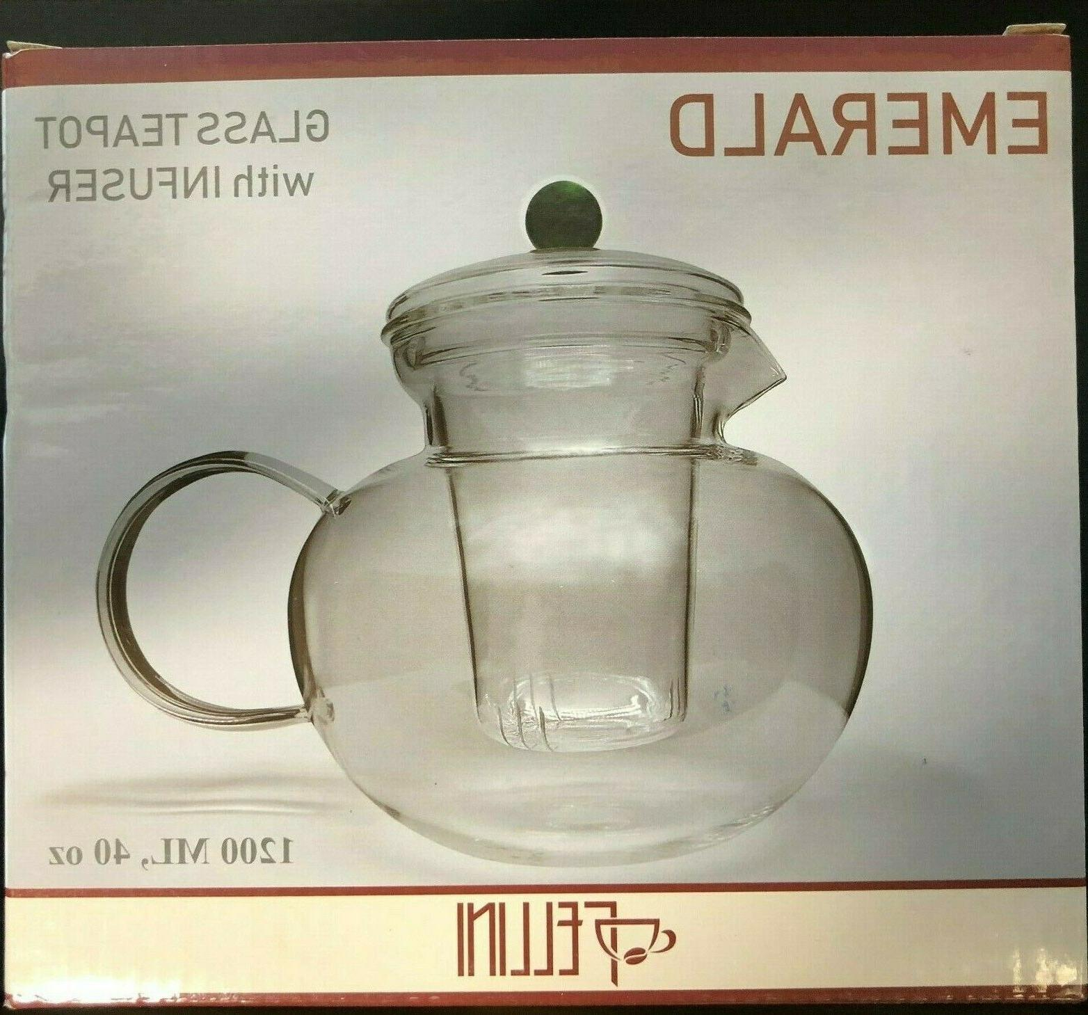 Fellini Teapot 40 oz