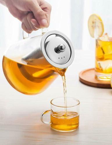 Glass Teapot Resistant Tea Infuser Tea