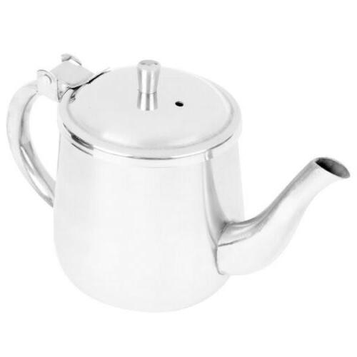 gooseneck teapot coffee pot kettle metal stainless