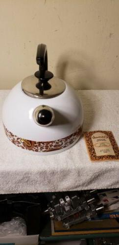 Del Coronado Gourmet Cookware Deluxe Porcelain Teapot Made I