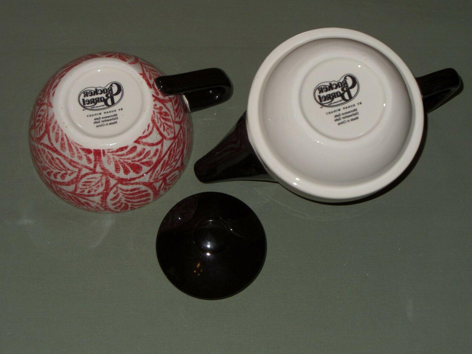 New Cracker Teapot & Tea 2 Piece