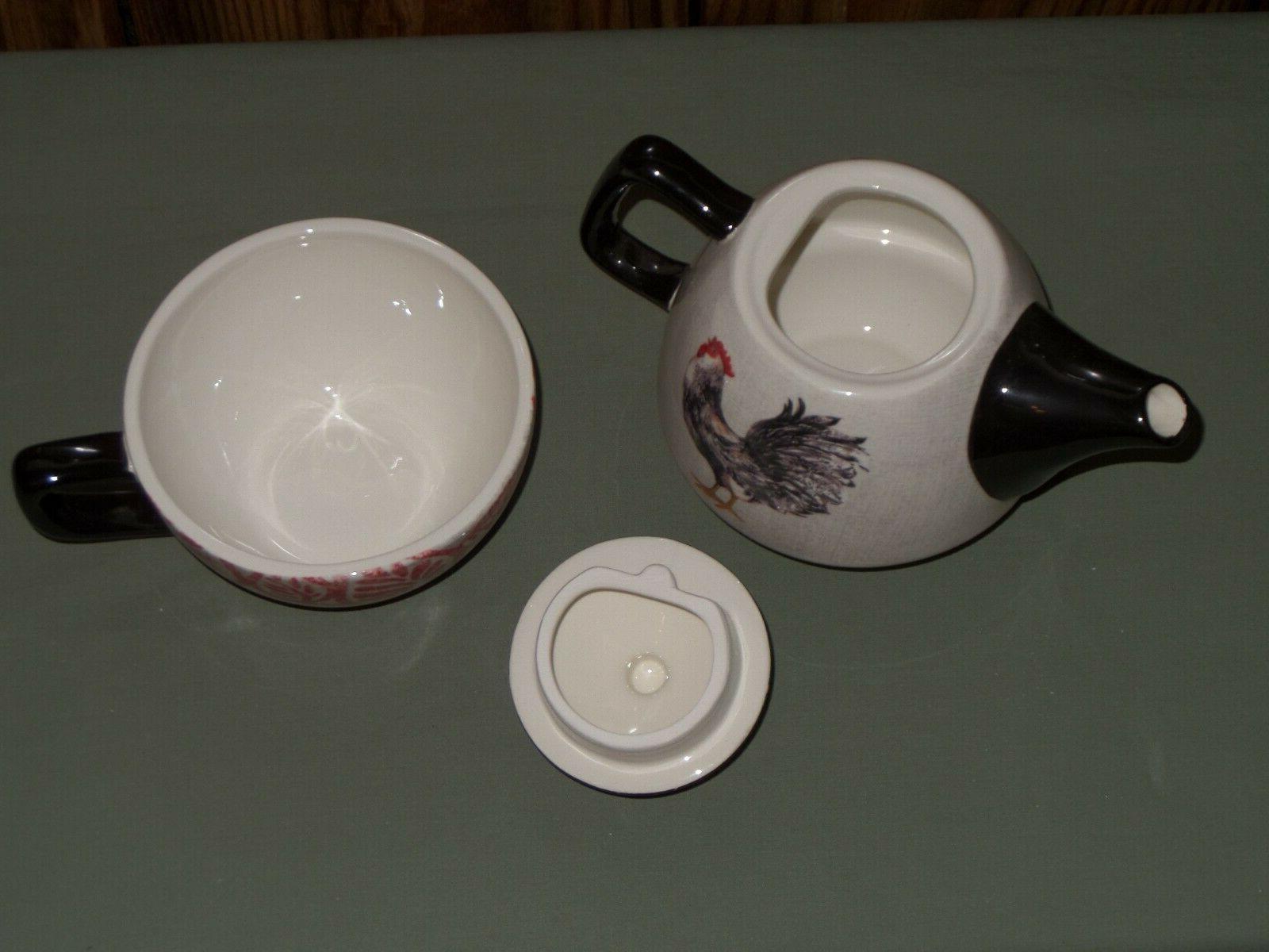 Teapot & 2 NIB