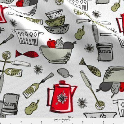 Painted Kitchen Retro Cookware Teapot