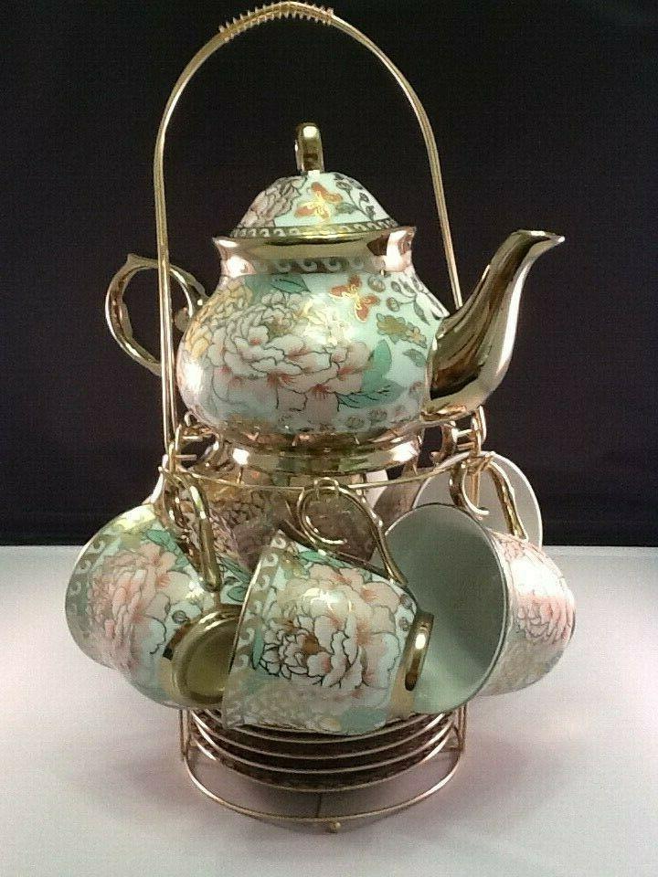 porcelain tea coffee set pot 2 oz