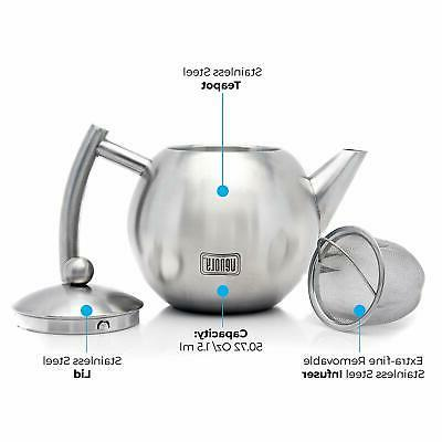 Venoly Pot With Removable For Loose Tea Bag
