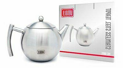 Venoly Stainless Steel Pot With For Loose Tea Bag