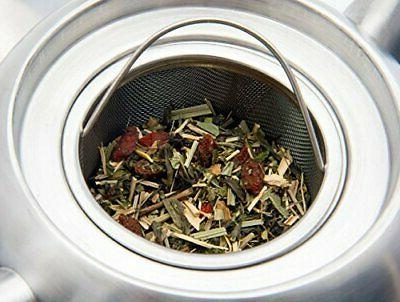 Venoly Steel Pot For Tea