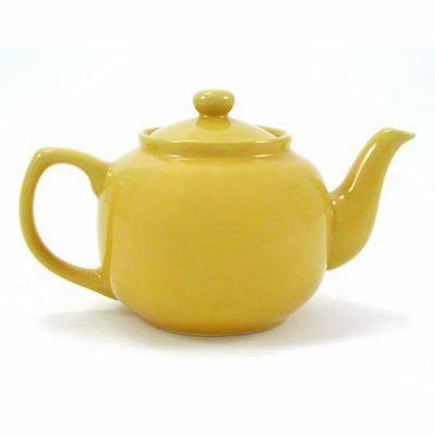 teapot 6 cup mustard