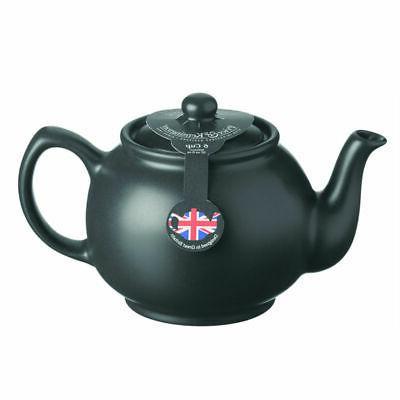 traditional ceramic tea serving teapot 6 cup
