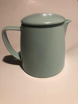 For Life Teapot Canary Mint Aqua 14 Ounces