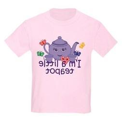 CafePress Little Teapot Kids Light T Shirt Kids Light T-Shir
