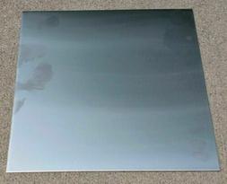 "Aluminum SHEET PLATE 15"" x 36"" 5052 .125 PVC PROTECTION NEW"