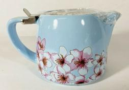 NEW in Box - ALFRED Ceramic and Stainless Steel Teapot 20oz