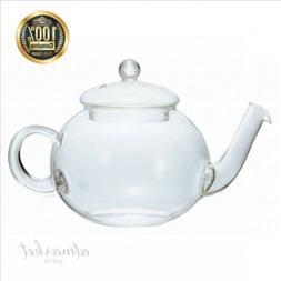NEW HARIO Jumping Teapot · Donau 800ml TDG-4 clear genuine