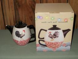 new rooster teapot and cup mug tea