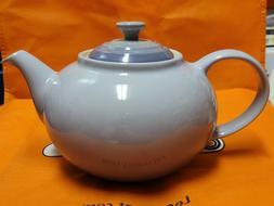 Le Creuset PG0328-00BP Enameled Stoneware Traditional Teapot