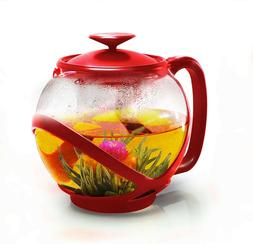 Primula PTRE-2340 Glass Tempo Teapot W/ Loose-leaf Tea Infus