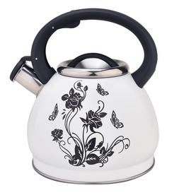 Stainless Steel Stovetop Whistling Tea Kettle Teapot Water K