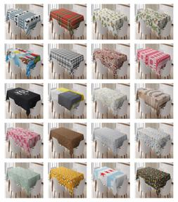 Tablecloth Dining Room Kitchen Decor Rectangle Table Cover 3