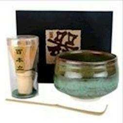 Happy Sales Tea Ceremony Set Bowl and Whisk 3353